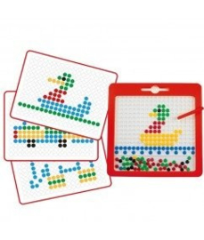 Hape - Magnet Board Bright Colours