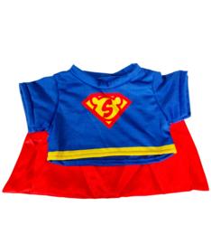 """SUPER"" TEE  W/ CAPE"
