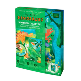 Box Candiy - Totally Dinosaurs (Watercolor Art Set)