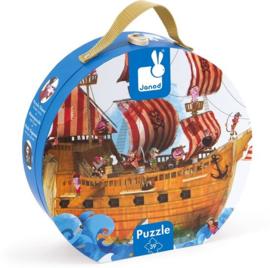 JANOD - Puzzel - Piratenschip