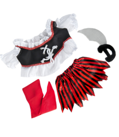"""PIRATE GIRL"" COSTUME W/SWORD"