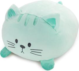 Balvi kussen kat Kitty mint groen