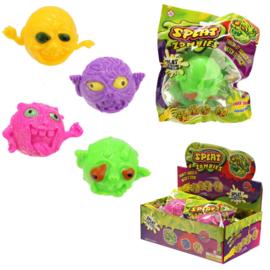 Fidget toy -  Indrukbare Zombie Monster Bal