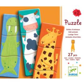Djeco - Puzzel 1.2.3. Animo