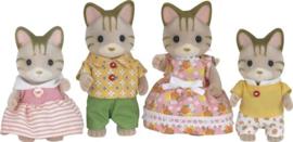 Sylvanian Families - Familie Gestreepte Kat