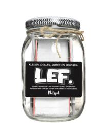 Kletspot - Lef