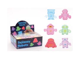 Fidget toy - Squeezy robot (Per stuk)