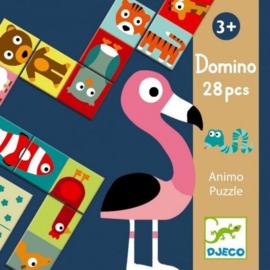 Djeco - Domino Puzzel Animo