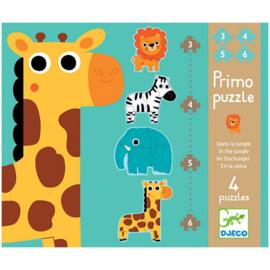 Djeco - Puzzel - Jungle dieren