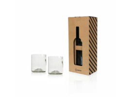 Rebottled Glazen 2pack - Whiskey - Clear