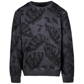 Sweater - AOP Navy