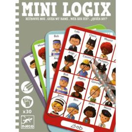 Djeco - Mini Logix - Wie is het? -  Jongens
