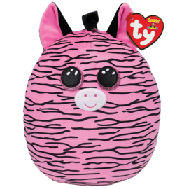 Fidget toy - Squishmallow -  Ty Squish a Boo - Zoey The Zebra  - 31 cm