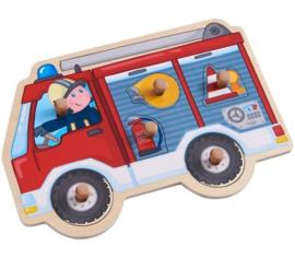 Inlegpuzzel  - Brandweerwagen