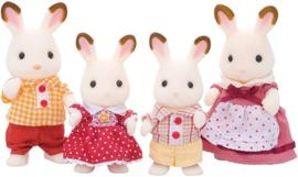 Sylvanian families  - familie chocolade konijn