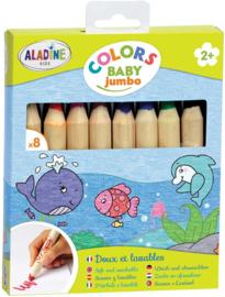 Aladine - Jumbo Kleurpotloden