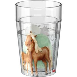 Haba - Glitterbeker Paarden