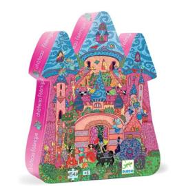 Djeco  - Puzzel feeën kasteel