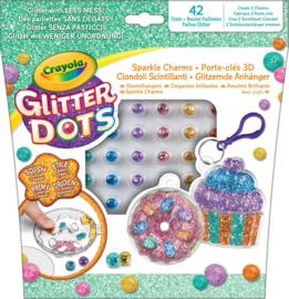 Crayola - Glitter Dots - Sleutelhanger - Bakkerij
