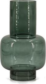 Glazen vaas - Groen - 30 cm