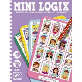 Djeco - Mini Logix - Wie is het? - Meisjes