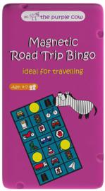 Purple Cow - Road Trip Bingo Magnetisch