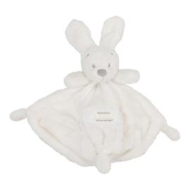 Knuffeldoekje VIB - Konijnenhoofd - Wit