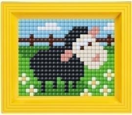 Pixel Hobby - Complete set - Zwart Schaap