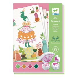 Djeco - Stempels - Bloemenmeisjes
