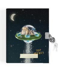 Enfant Terrible - Dagboek met slotje - Space UFO