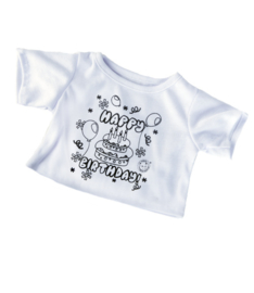COLOR ME HAPPY BIRTHDAY SHIRT