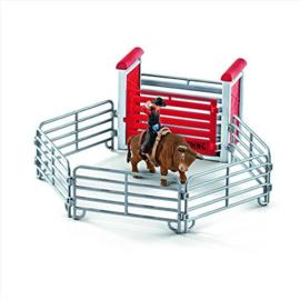 Schleich - Rodeo met cowboy