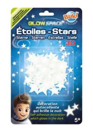 Buki - 3D Glow Stickers sterren
