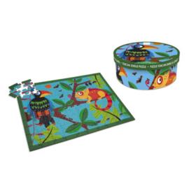 Scratch Puzzel - Toekan Jungle - 100 stuks
