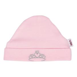 Muts VIB - Kroontje - Roze