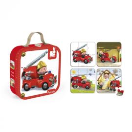 Leon's brandweerwagen