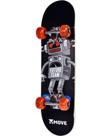 """Skateboard -  Robot - 24"""""""
