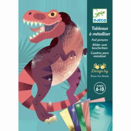 Djeco - Jurassic - Folie schilderijtjes
