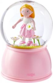 Haba - Nachtlampje/Sneeuwbol met Led - Prinses