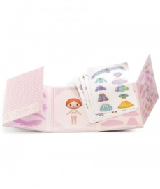 Djeco - Miss Lilyruby Stickers removable