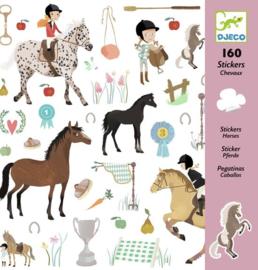 Djeco - Paarden Stickers