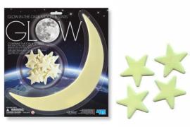 4M - Maan + 12 sterren