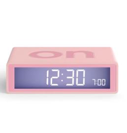 Lexon - Flip wekker - Roze