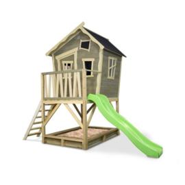 EXIT - Crooky 500 houten speelhuis - grijsbeige