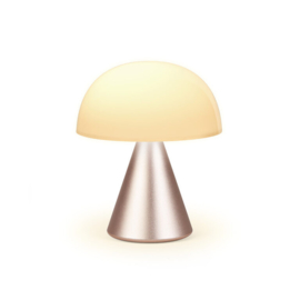 Lexon - Mina M oplaadbaar ledlamp Medium - Soft Gold