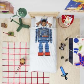 Snurk Dekbedovertrek - Robot