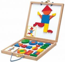 Djeco - Magneetspel in houten koffer
