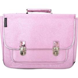 Boekentas - Glitter roze