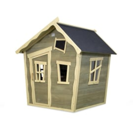EXIT - Crooky 100 houten speelhuis - grijsbeige