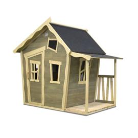 EXIT - Crooky 150 houten speelhuis - grijsbeige